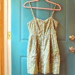 Forever 21 Dresses - Floral Button Down Dress